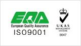 EQA ISO9001 バナー